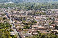 Antigua Guatemala Aerial View