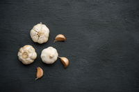 Garlic, seasoning spice.