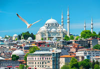 Suleymaniye Mosque in Turkey