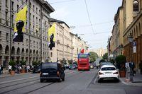 Straßenverkehr Maximilianstraße München
