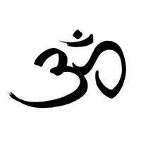 Om - sacred symbol n Hinduism