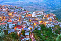 The village of Staiti in the Province of Reggio Calabria