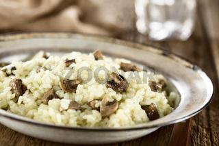 Homemade Mushroom Risotto