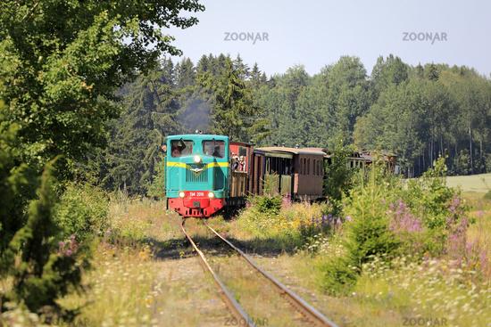 Vintage Diesel Locomotive Travel