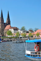 Neuruppin am Ruppiner See in Brandenburg,Deutschland