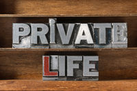 private life tray