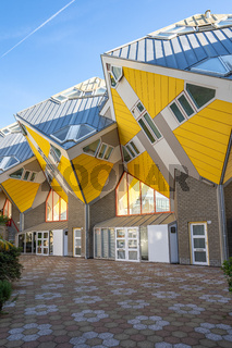 Cube House are a set of innovative houses built in Rotterdam, Netherlands