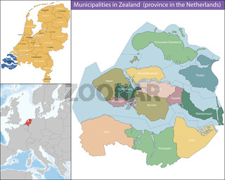 Zeeland is a province of the Netherlands