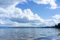 Tutzing lake Starnberg Bavaria Germany