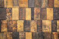 mosaic of grunge wooden blocks