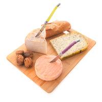 Cheese assortment as dessert