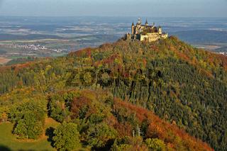 Burg Hohenzollern, Deutschland, Schwaebische Alb