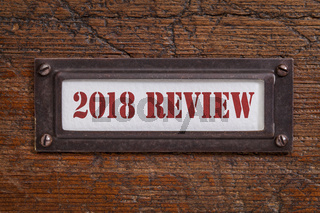 2018 review- file cabinet label