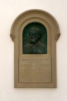Gedenktafel Georg Schudt Bad Homburg