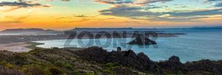 landscape of Antsiranana Bay, Madagascar