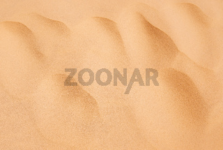 Sand with waves