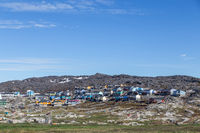 Colorful houses in Ilulissat, Greenland
