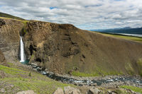 Litlanesfoss Wasserfall Island