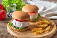 Camembert Hamburgers