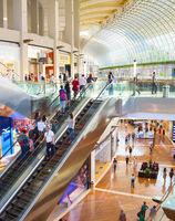 Marina Bay shopping center, Singapore