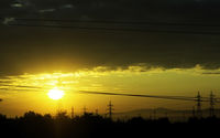 High voltage sunrise