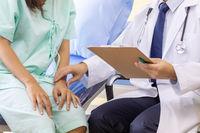 Doctor explaining treatment