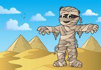Mummy theme image 3