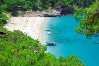 Kabak beach in Turkey