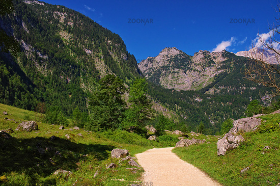 Alpenimpression am Obersee