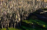 Küstenmauer - I - Trebarwith - Cornwall