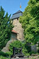 an der Stadtmauer in Ahrweiler,Rheinland-Pfalz,Deutschland