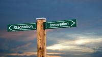 Street Sign Innovation versus Stagnation