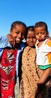 out of  school unidentified  little  girls
