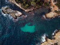 Cap falco beach in Mallorca Island. Spain