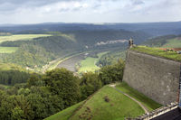 view from fortress Koenigstein in Saxony