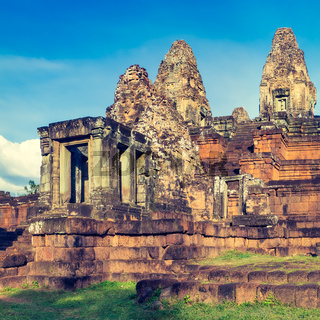 Pre Rup temple at sunset. Siem Reap. Cambodia.