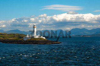 Leuchtturm auf der Insel von Lismore-inneren Hebriden Schottland