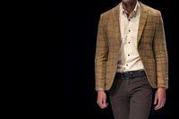 Fashion catwalk runway show male model
