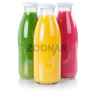 Saft Smoothie Smoothies Flasche Fruchtsaft Orangensaft Quadrat freigestellt Freisteller