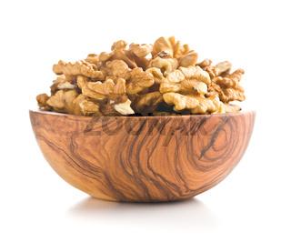 The walnut kernels.
