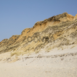 Steilkueste Rotes Kliff