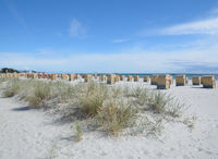 Strand im Ostseebad Groemitz,Ostsee,Schleswig-Holstein,Deutschland