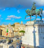 Victor Emmanuel II Rome Italy