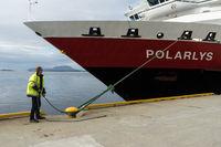 Schiffsanleger der Hurtigruten