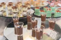 Buffet mousse dessert