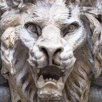 Lion-Shaped Demon head