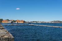 Ehemalige Kaserne der norwegischen Marine in Stavern
