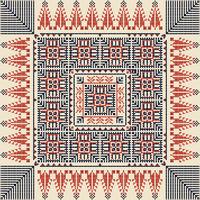 Palestinian embroidery pattern 40