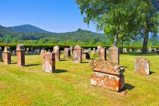Jüdischer Friedhof Busenberg im Dahner Felsenland - Jewish Cemetery Busenberg in Dahn Rockland, Germany