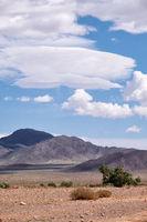 Mongolian stone desert natural landscape  in Mongolia